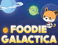 Foodie Galactica: UX & Game Design