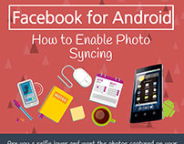 Facebook For Android - How To Enable Photo Syncing