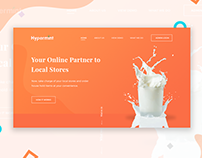 Hypermint - Landing page
