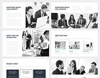Hudson Business Google Slides Template