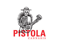 Pistola Cannabis - Brand Identity and Package Design