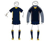 SPORTS APPAREL design : Running Outfit
