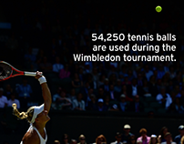 Wimbledon - designed fror social media