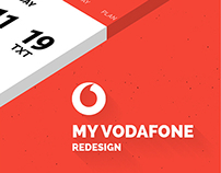 My Vodafone | APP redesign