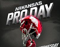 Arkansas Razorbacks 2016 Pro Day