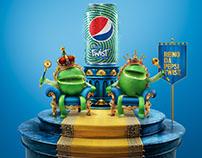 Pepsi Twist . Limões