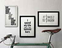 100copies - Letterpress Prints