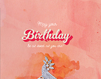 Birhday Greeting Cards