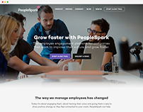 PeopleSpark - Web Design
