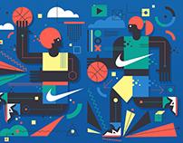 Nike Wall Mural