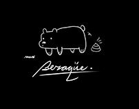 """Bear 'Weird' Translator"" - Postcards Designs"