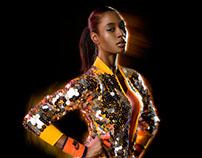 Sport Fashion shoot with Gary Harvey creative director
