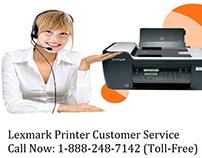 Lexmark Printer Customer Service 1-888-248-7142