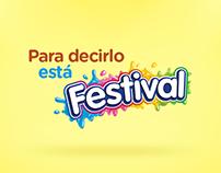 Para decirlo está Festival | Packaging