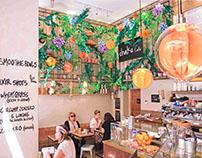 Direzione creativa e allestimenti - Shake Cafè Firenze