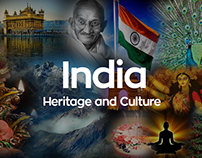 India's Heritage and Culture Banner