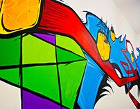 Mural - Green Art Asia / Tuspark HK