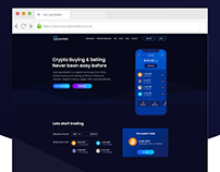 CryptoWallet Web UI Design