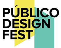Público Design Fest - Identity