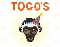 Picture Book Illustration - Togo's Birthday