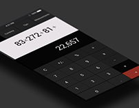 Daily UI Challenge: Calculator UI 004