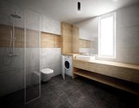 Private flat - Conceptual design