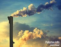 Pollution kills.