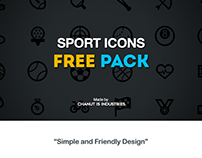 FREE! Sport icons pack by Chanut-is-Industries