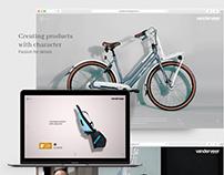 vanderveer designers - clean and modern webdesign