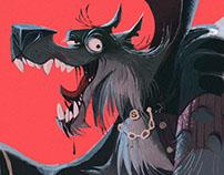 Wolf Vampire Character Design