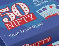 50 Nifty - Board Game