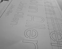 John Allen - Typography Logo