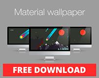 Meteor Material Wallpaper
