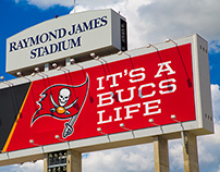 Tampa Bay Buccaneers Stadium Signage