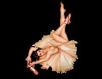 Ballerina Pinup Girl