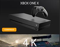 Gameteczone Newsletter Lançamento Xbox One X