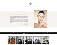 Rebranding for a beauty studio Alga