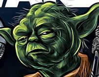 Google doodle - Star Wars