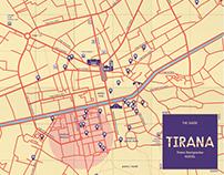 City Map Tirana