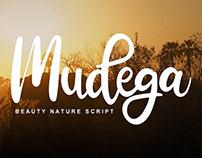 Mudega Script Font