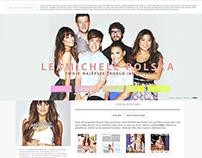 Lea Michele layout