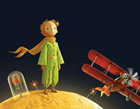The Little Prince (2015 film) Promo campaign for Russia