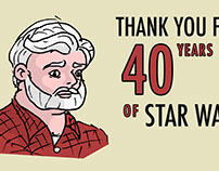 40th Anniversary of Star Wars