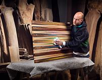 Wood Artist Website AD