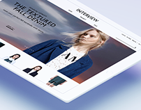 Curation Style Shop INTERVIEW Store Site.