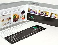 A4 Landscape Folder Brochures Printing