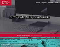 Burgaz Kurumsal İnternet Sitesi Tasarımı