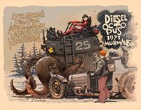 Diesel octopus