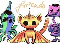 "Contest Entry: T-Shirt Design ""Friends"" for DeviantArt"