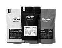 Brewo Coffee Co.   Branding and Identity.
